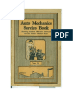 1929 - Auto Mechanics Service Book - No 66