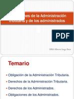 obligaciones de la administracion tributaria y de los administrados