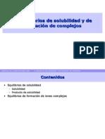 8-Equilibrios Solubilidad Complejos