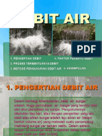 Presentasi Debit Air