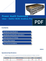 Idea Power Audit Summary Delhi AP V1.0. Part 1