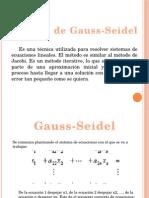Gauss Seidel (1)