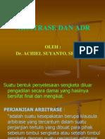 ADR Dan Arbitrase