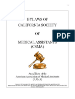 2015csma bylaws
