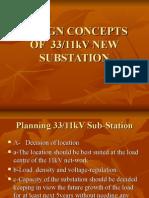 Design Concept of 3311 Kv Substation