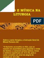 Canto e Música Na Liturgia - Pe. Edson