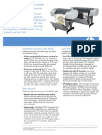 Hp Designjet t610 Brochure