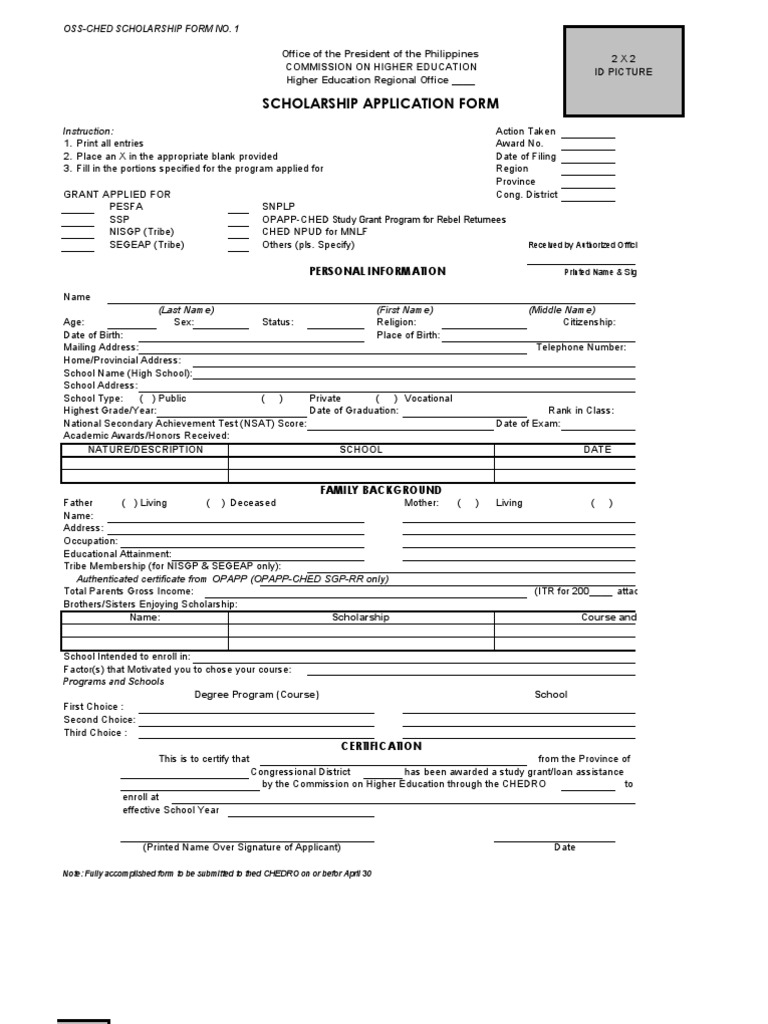 CHED - Scholarship Form Application Form In Ched on application insights, application error, application for rental, application meaning in science, application cartoon, application to join a club, application for employment, application to date my son, application database diagram, application template, application trial, application clip art, application service provider, application in spanish, application submitted, application to be my boyfriend, application approved, application to join motorcycle club, application for scholarship sample, application to rent california,