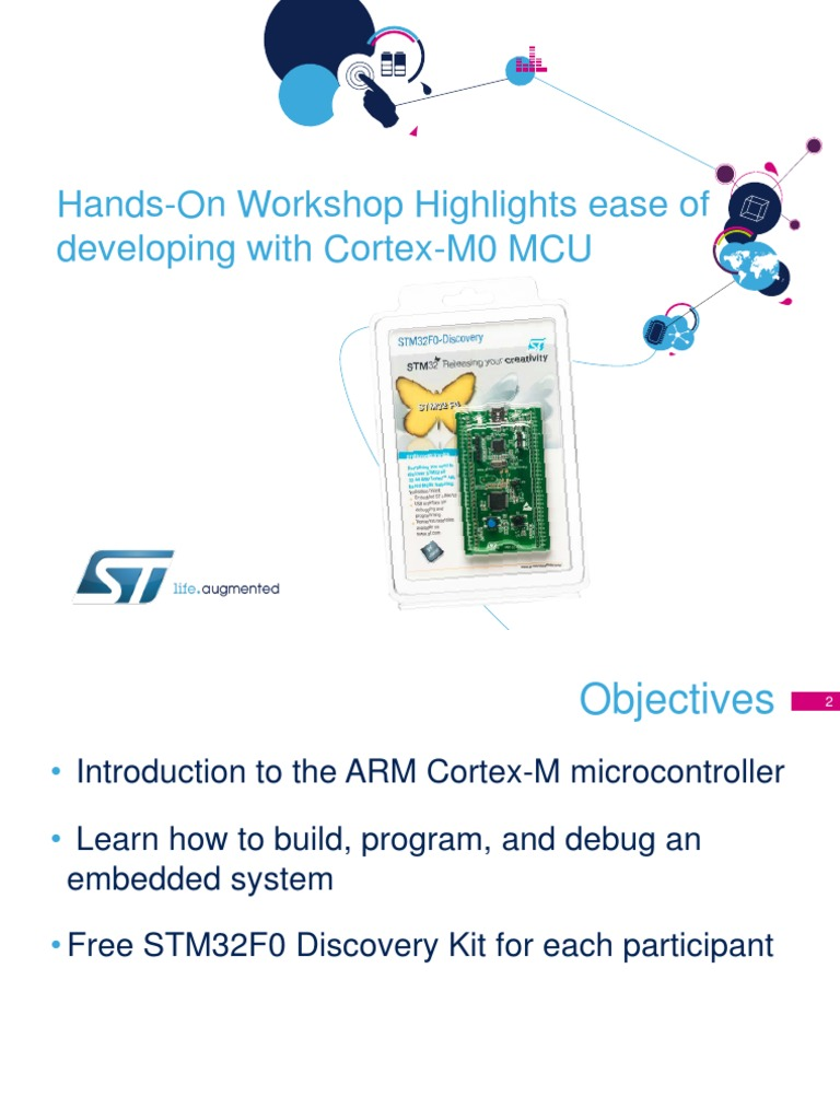 stm32f0-hands-on pdf | Arm Architecture | Microcontroller