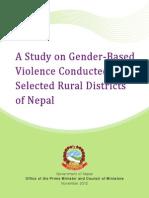 Gender Based Violence in Nepal