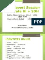 CRS-Moderate HI + SDH