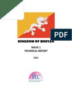 Bhutan Technical Report