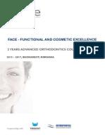 FACE  2 years advanced orthodontics program
