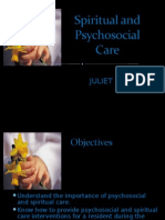 Spiritual and Psychosocial