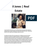 Timil Jones and Real Estate