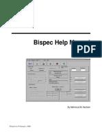 Bi Spec Help Manual