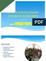 Badan Penyelesaian Sengketa Konsumen BPSK