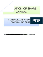 Alteration of Share Capital -3_ Sem_2