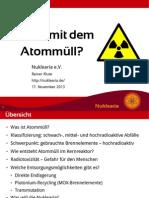 Praesentation - Wohin Mit Dem Atommuell