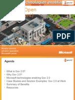 Gov 2.0 (Open Government)