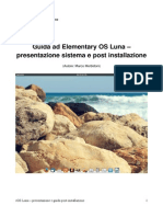 Guida Elementary OSLuna