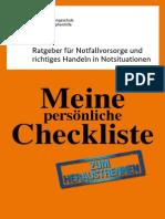 Krisenvorsorge Checkliste_Ratgeber