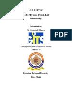 Lab Report VLSI