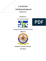 Lab Report VLSI