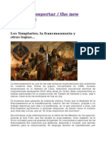 Los Templarios La Francmasonerc3ada y Otras Logias