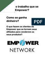 Qual é o Trabalho Que Se Faz Na Empower