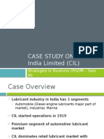 Case Study on Castrol India Ltd.