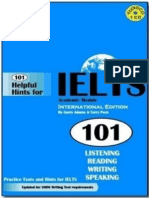 101 Helpful Hints for IELTS.