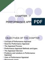 Perf Appraisal