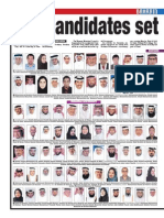 Candidates for Bahrain Election-2014