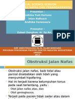 CSS Obstruksi Jalan Nafas