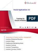 Oracle Inventory