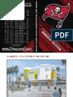 2009 Tampa Bay Buccaneers Media Guide