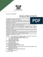 PORTARIA N 327 Dispõe Sobre a Composição Da Comissão Estadual Para Elaboração Do Plano Estadual de Educação