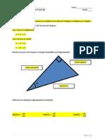 Examen-Trigonometría & Pitágoras Clave
