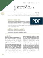 Evaluación y tratamiento de las Disfunciones Sexuales