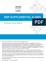 MDF Supplemental Slides