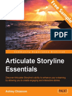 Articulate Storyline Essentials - Sample Chapter