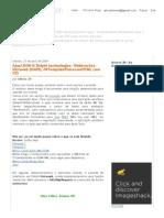 Estação ZN_ Ajax_JSON & Delphi Technologies– Webbrocker, Intraweb (ISAPI), IWTemplateProcessorHTML Com CSS