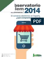 Cetelem Observatorio eCommerce 2014. Cocina y accesorios cocina
