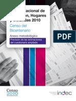 Censo 2010 Anexo Metodológico