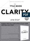 The Little Book of Clarity Sample Chapter