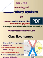 Gas Exhange Abdelhamid