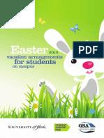 Easter Booklet 2015