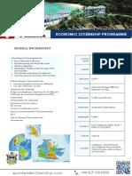 Economic Citizenship Programme - Antigua and Barbuda