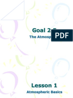 goal 2 5 lessons 1-3 all about the atmosphere